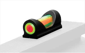 "Truglo Fat-Bead Universal Sight, Fits All Gauges Shotgun, Red/Green, Requires Bead Replacement, Fiber diameter .120"", Fiber length .5"" TG948UD"