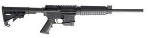 Smith and Wesson MP15 Carbine 811013, 223 Remington, Semi-Auto, 16 in, Fixed Position Stock, Black Finish, 10 + 1 Rd