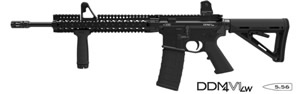 Daniel Defense M4 Carbine V1 LW Lightweight Barrel Rifle DA22162, 5.56 NATO, 16 in, 30 Rd, Black Finish