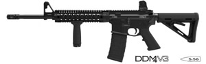 Daniel Defense Model DDM4V3 Tactical Carbine DD20009, 223 Remington/5.56 NATO,16 in, Black Finish, 30 + 1 Rds, New Version w/Rail, Flash Supp