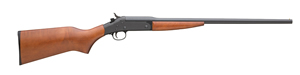 New England Pardner Single Shot Youth Shotgun 72116, 410 GA, Break Open Act , 22 in BBL, 3 in Chmbr, Hardwood Stock, Color Case/Blue Finish, 1 Rds, Full Choke