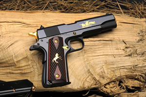 Talo Colt Texas Longhorn Series 70 Special Edition Government Pistol O1970A1TLH, 45 ACP, One of 400