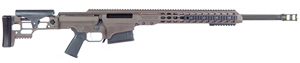 "Barrett MRAD Rifle System 14349, .338 Lapua, 24"" Fluted Match Grade Barrel, Bolt-Action, Folding Stock, Adj Match Trigger, Multi-Role Brown Cerakote Finish, 10 Rds"