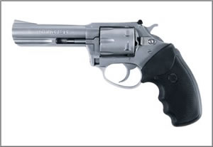 Charter Arms Pathfinder Combo Revolver 62240, 22 LR | 22 Magnum, Stainless / Black Rubber, Adj Sights