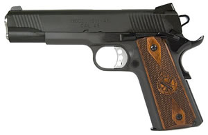 Springfield Loaded 1911-A1 Pistol PX9109LP, 45 ACP, 5 in in BBL, Single / Double, Cocobolo Wood Grips, Parkerized Finish, 7 + 1 Rds, Trit Night Sights