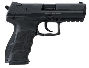 HK P30 Pistol 730903A5, 9 mm, 3.86 in, Black Syn Grip, Black Finish, 10 + 1 Rd, Ambidextrous, 2 Mags