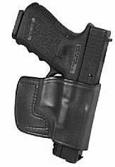 Don Hume JIT Slide Holster Right Hand Black S&W M&P 45ACP Leather J966628R