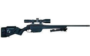 Steyr SSG 04 Bolt Action Rifle 600103G, 308 Win, 23.6 in, Syn Stock, Blue Finish