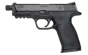 Smith & Wesson Model M&P 9 Pistol 150922, 9 mm, 4.25 in, Black Finish, Fixed Sights, 17 Rd