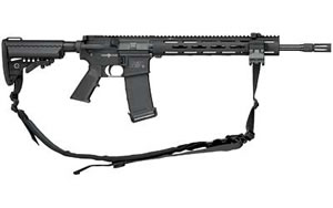 Smith & Wesson Model M&P 15 VTAC II Rifle 811025, 5.56 NATO, 16 in, Vltor IMOD Stock, Black Finish, 30 Rd