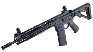 "Spikes Tactical Crusader Rifle STR5525-M2D, 223 Rem/5.56, 14.5"" Lightweight BBL, Semi Auto, Magpul CTR Black Stock, Black Finish, 30+1 Rds"