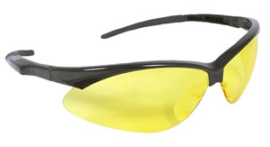 Radians OB140CS Amber Outback Shooting Glasses