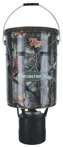 Moultrie Econo 6.5 Gallon Hanging Feeder w/Adjustable Photocell Timer MFHEP65