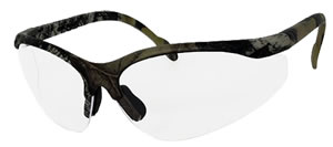 Radians JRJ410CS Journey Jr Glasses w/Frame Mossy Oak Break Up/Clear Lens