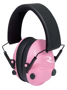 Radians PAP700CS Pro-Amp Electronic Hearing Enhancement/Protection Muffs, Pink