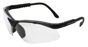 Radians RV0110CS Revelation Anti Fog Glasses w/5 Position Ratchet Temples, Clear