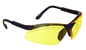 Radians RV0140CS Revelation Anti Fog Glasses w/5 Position Ratchet Temples, Yellow