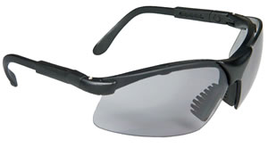 Radians RV0120CS Revelation Anti Fog Glasses w/5 Position Ratchet Temples, Dark Smoke