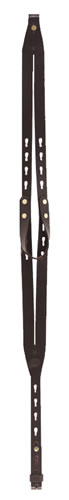 Galco RS11B Leather Rifle Ching Sling w/Keyhole Attachment System