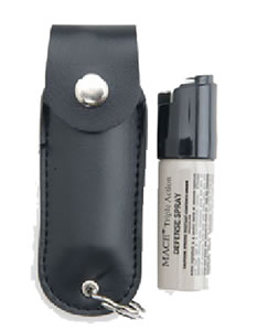 Mace Security  Pepper Spray w/Leather Pouch & Keychain 11 Gram 80185
