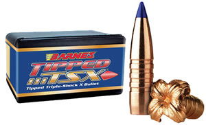 Barnes Bullets 30879, Tipped Triple Shock, .308 Caliber, 180 gr, 50 Per Box (Not Loaded)