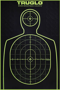 Truglo TG13A6, Tru-See Paper Targets, 6 Pack
