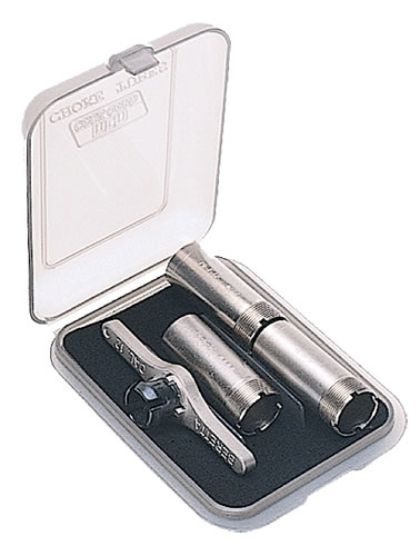 MTM Choke Tube Case, CT341, 10, 12 & 20 Ga, Holds 3 Extended or 6 Standard Tubes, Clear Smoke