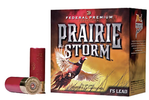 Federal Premium Prairie Storm Shotshells PF154FS5, 12 Gauge, 2 3/4 in, 1 1/4 oz, 1500 fps, #5 Lead Shot, 25 Rd/bx, Case of 10 Boxes
