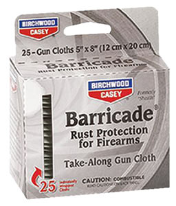 Birchwood Casey 33025  Gun Cleaning Wipes/25 Pack