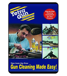 Tetra 1500B1 Gun Care Instructions On DVD