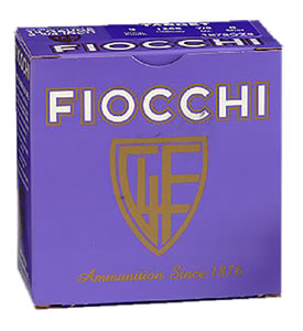 Fiocchi Premium Target 12IN24, 12 Gauge, 2 3/4 in, 24 grams, 1350 fps, #7 1/2 Lead Shot, 25 Rd/bx, Case of 10 Boxes