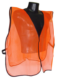 Radians Orange Mesh Safety Vest SVO