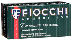 Fiocchi Extrema Hunting Rifle Ammunition 204HVA, 204 Ruger, V-Max Hollow Point, 32 GR, 20 Rd/bx