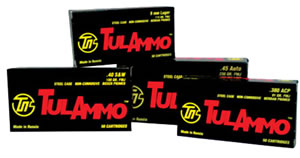 Tulammo Ammunition TA452300, 45 , Full Metal Jacket, 230 GR, 50 Rd/bx
