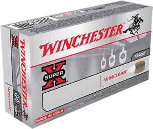 Winchester WinClean Handgun Ammunition WC357SIG, 357 SIG, Brass Enclosed Base, 125 GR, 1350 fps, 50 Rd/bx