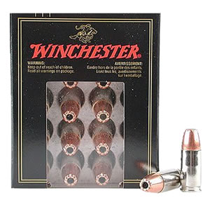 Winchester Supreme Centerfire Pistol Ammunition SPG454, 454 Casull, Partition Gold, 260 GR, 1800 fps, 20 Rd/bx