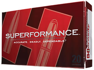 Hornady Superformance Ammunition 85507, 6.5X55 mm Swede, SST, 140 GR, 2735 fps, 20 Rd/bx