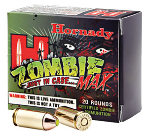 Hornady Zombie Max Ammunition 90902, 45 ACP, Zmax, 185 GR, 900 fps, 20 Rd/bx