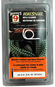 Hoppes 24025  .204 Ruger Quick Cleaning Boresnake w/Brass Weight
