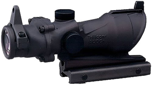 Trijicon ACOG Sight TA01NSN, 4x, 32mm Obj, Black, Illum Reticle, AMB M4A1 223, Amber, w/$50 Coupon For Future Order