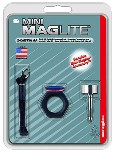 Mag Lite AM2A016 Kit Include 3 Lenses/Anti-Roll Device/Lens Holder/Wrist Lanyard