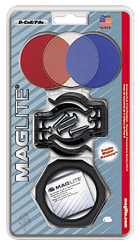 Mag Lite ASXX376 Pack Includes Anti-Roll Device/Lens Holder/3 Lenses
