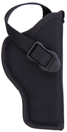 Blackhawk Nylon Hip Holster Black Right Hand, Model 73NH04BKR, For 4 1/2-5 in BBL Large Autos Open End