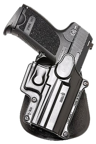 Fobus Standard Paddle Left Hand Holster HK1LH, For H&K USP Compact, 9mm/.40/.45, S&W