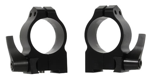 Warne Quick Detach Rings 1TLM, Tikka, Medium, 1 in, Matte