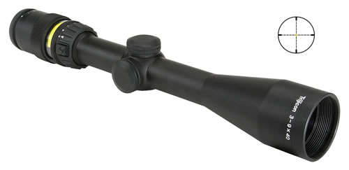 Trijicon Accupoint Rifle Scope TR202 3-9X40 w/ Illuminated Mil-Dot Reticle & Matte Black Finish, w/$10 Coupon For Future Order