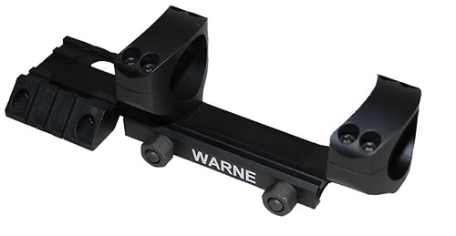 Warne RAMP1 Fixed Tactical Scope Rings 1 in Mt