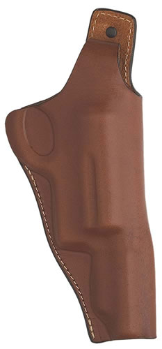 Hunter 1195 High Ride Holster Fits 3 in BBLand 3 in Cylinder Brown Leather TB MG Judge