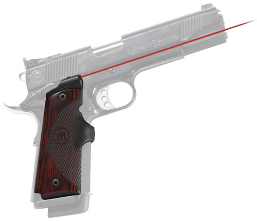 Crimson Trace LG901 Lasergrip for Master Series 1911 Government/Commander, Rosewood