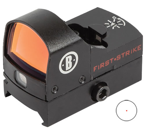 Bushnell 730005 First Strike Red Dot Auto Unlimited Eye Relief 5 MOA Matte Black